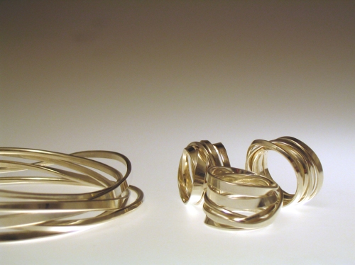 Onefooter rings and Onemeter bangle