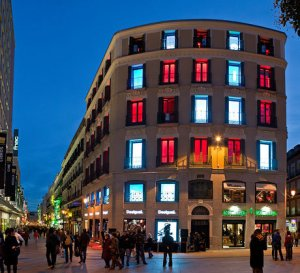 Desigual flagship store in Barcelona