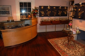 The jewellery room at Aphrodite