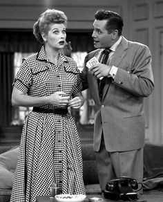 "Image #: 1386239    Lucille Ball and Desi Arnaz star in the CBS television series ""I Love Lucy.""   CBS /Landov"