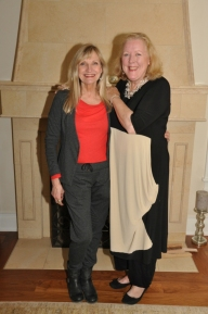 With Laura Smith - Our Patron Goddess